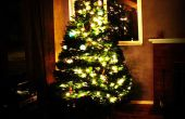 LED Star Tree Topper und Methode für das gleiche erreichen.