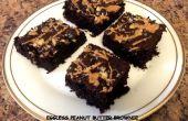 Eifreie Peanut Butter Brownie