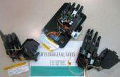Drei Low-Cost austauschbare 3-d-Printable bionische Hände