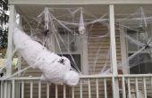 Eine lebensgroße Spider-Opfer