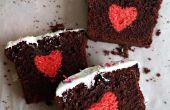 Herz Kuchen versteckt / Überraschung Kuchen