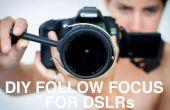 DIY Follow Focus für DSLR-Kameras