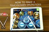 Touchscreen-Drumsticks! Billig und einfach!
