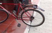Fahrrad Schutzblech aus PVC-Blind