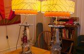 Lampen aus großen Ventile
