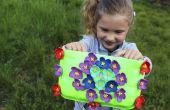 DIY-Tasche aus recycelten Platten | DIY-Handwerk für kleine Mädchen