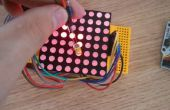 Arduino - Dot-Matrix-Bildschirm schreiben LED