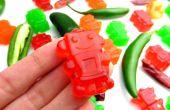 Scharfe Gummibärchen Snacks