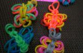 Rainbow Loom: Schmetterling Charm