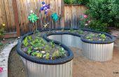 Aufgewachsen Bett Garten aus Bedachung Blech