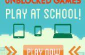 Wie man Spiele in der Schule