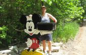 Mickey Maus hält Ihr Postfach