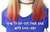 Gewusst wie: Dip-Dye Ihr Haar mit Kool-Aid