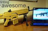 3D druckbare Airsoft Gun
