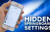 IOS 7 versteckt Sprungbrett Optionen: Gewusst wie: Drehen Sie auf [iPhone 5 s Jailbreak erforderlich]