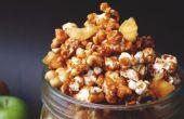 Glasierter Apfel (Caramel Apple) Popcorn