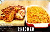 LANGSAM gekocht, JOLLOF Reis und Huhn