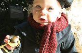 Baby Mütze und Mantel