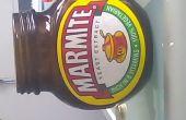 Upcycled Marmite Jar Teelicht