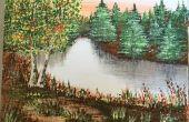 Acryl Landschaftsmalerei