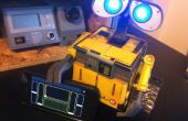 Spark-e - A Spark Core + Touch OSC gesteuert Wall-e Spielzeug Roboter Umwandlung