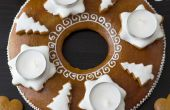 Wie erstelle ich Lebkuchen Adventskranz (Montage Anleitung)
