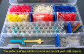 MEINE Art und Weise der Organisation My Rainbow Loom
