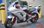 Ersetzen von Kupplung und Bremse Hebel auf Motorrad