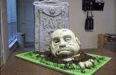 Wie erstelle ich eine geformte Zombie-Kuchen.