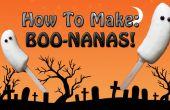 Gruselige BOO-Nanas! (Super einfach, kein Koch)