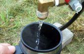 Camp-Warmwasser-Heizung mit einer einfach zu benutzenden Verzicht auf Funktion