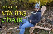 Machen Sie ein Wikinger-Stuhl mit Handwerkzeugen!