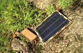Montage einer BootstrapSolar Chi-Qoo Solarbatterie Ladegerät-Kit