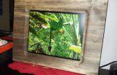 17-Zoll Bilderrahmen gemacht aus einem einzigen Stück Holz-Platte (für digitale Bilderrahmen)