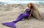 Mermaid Tail für Puppen stricken