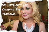St. Patricks Day Grafik Eye Make-up Tutorial!
