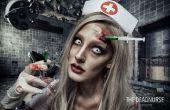 Tote Krankenschwester - SFX Make-up Tutorial