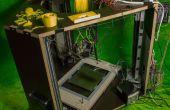 DIY-Delta-3D-Drucker unter Verwendung von low-cost recycelten Teilen