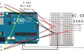 How to Build Hindernis vermeiden Roboter für Anfänger mit Arduino Tutorial