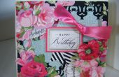 Wie erstelle ich eine Rose Designer Kollektion Floral-Karte