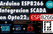 Arduino ESP8266 Modbus TCP-IP-Scada Industrial Opto22