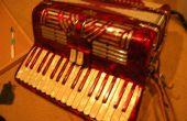 Wie ein Akkordeon Keyboard zu beheben