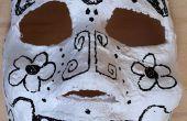 Einfach Tag der Toten (Dia de Los Muertos) Masken