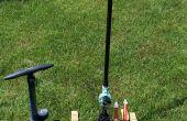 Druckluft-Launcher und wiederverwendbare Raketen