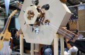 Das Hexachord, ein Arduino-gesteuerte Musikinstrument