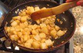 Süße und herzhafte Pommes frites