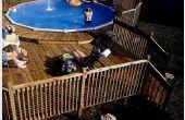 Wie man eine Pool-Deck zu bauen