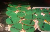 Alien Kopf Cookies