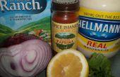 Geräucherter Thunfischsalat