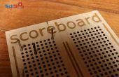 Lasercut Cribbage-Stil Anzeiger